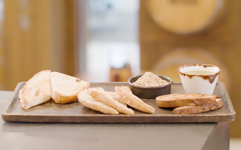 Artisan Bread Selection available at Gibson + Giles, Perth Airport