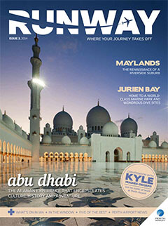 Runway magazine cover - issue 3